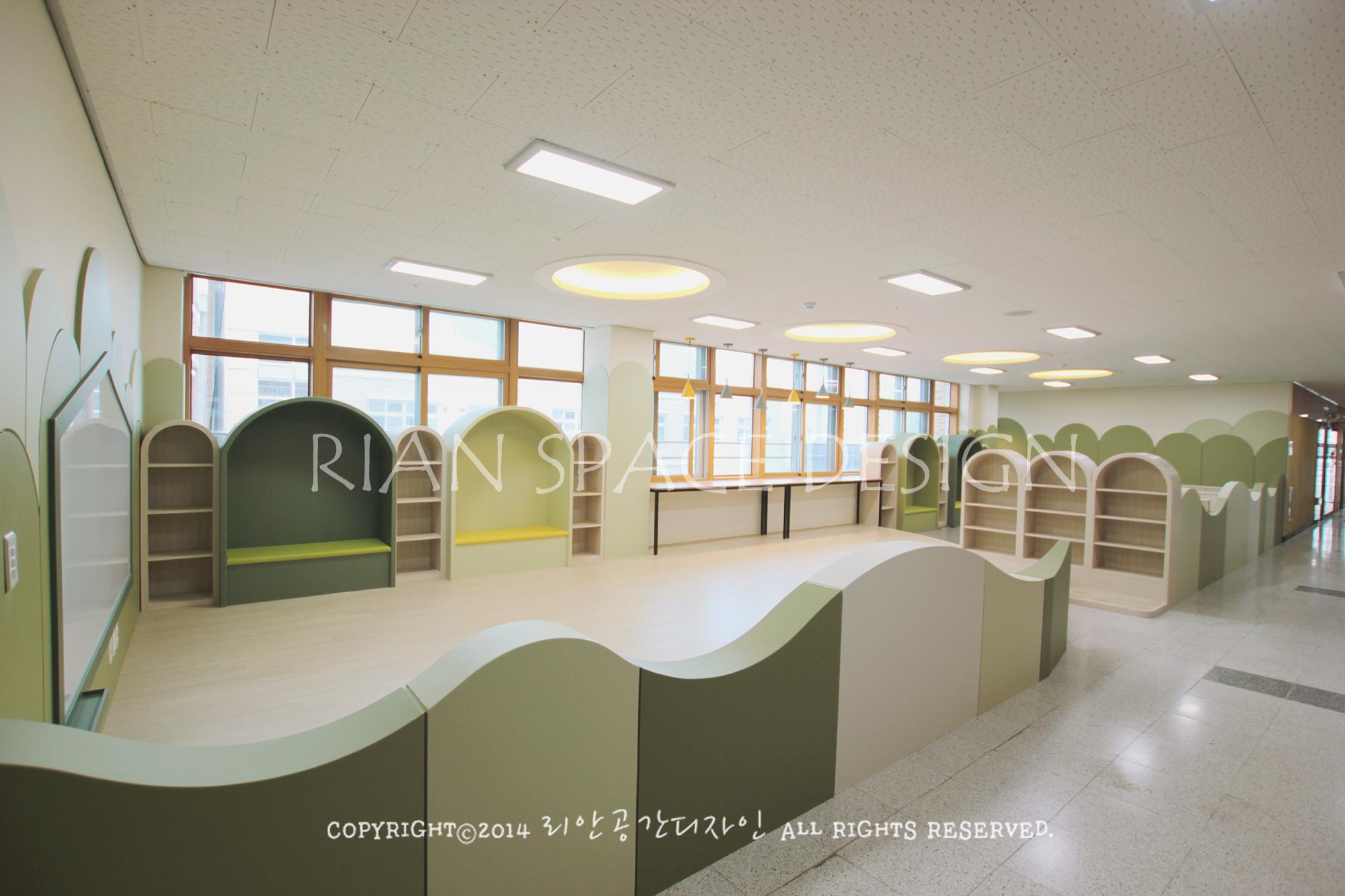 포항 oo초등학교 놀이중심 공간재구조화 인테리어