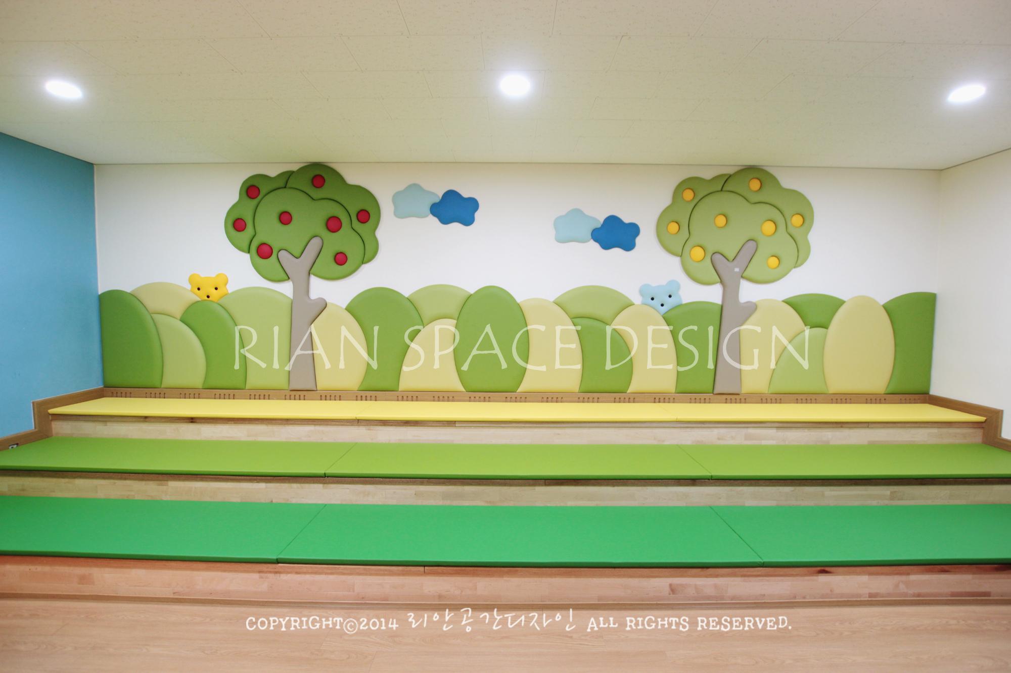 포항OO 초등학교 공용공간 인테리어