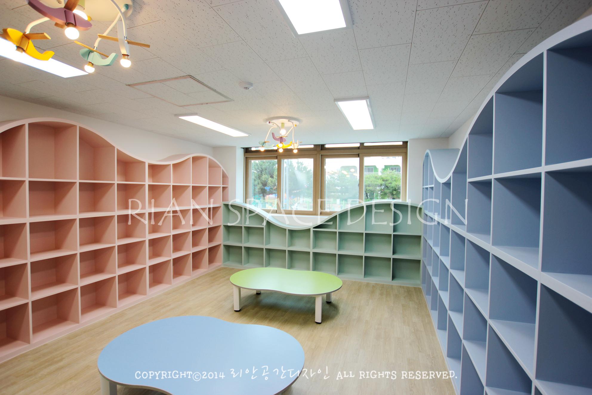 포항oo초등학교 도서관 인테리어
